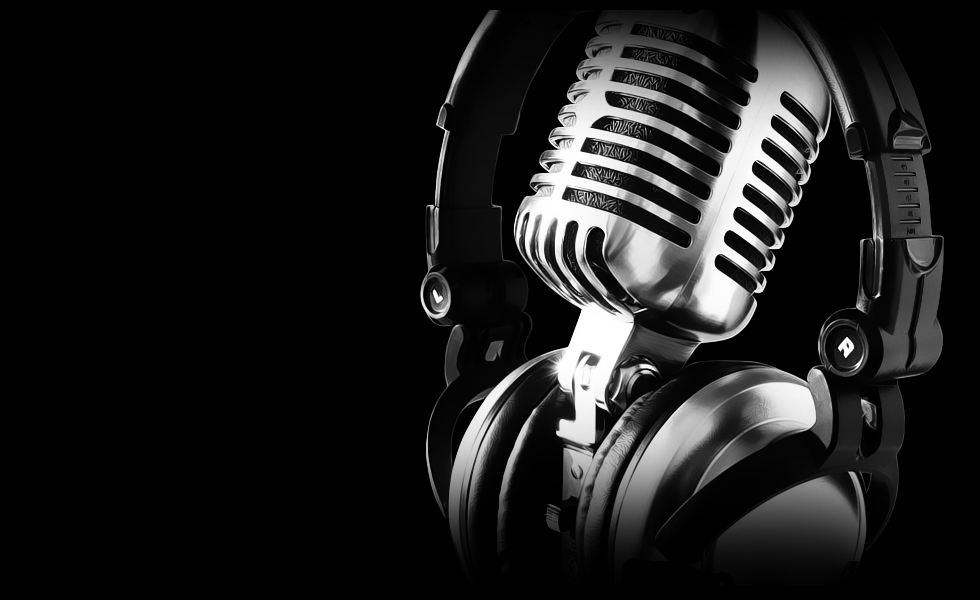 Headphones Music Microphones 4500x4100 Wallpaper: Nevermore Horror