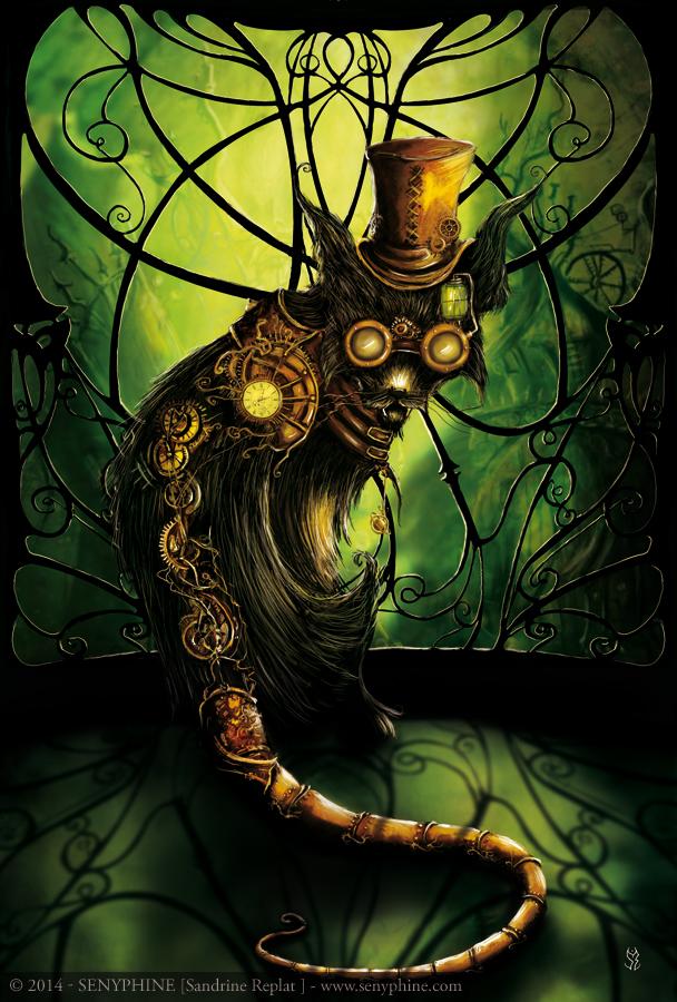 steampunk_cat_by_senyphine-d7izkda