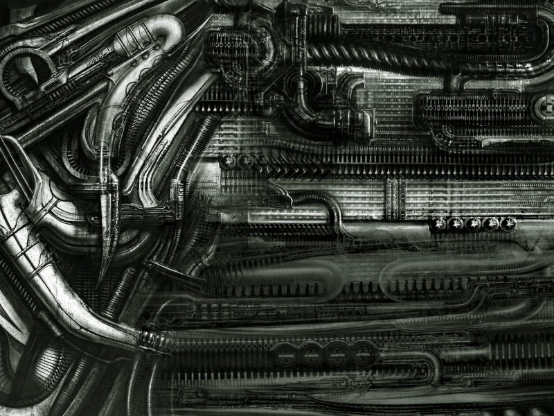 abstract_textures_hr_giger_artwork_hr_giger_Wallpaper HD_2560x1600_www.paperhi.com