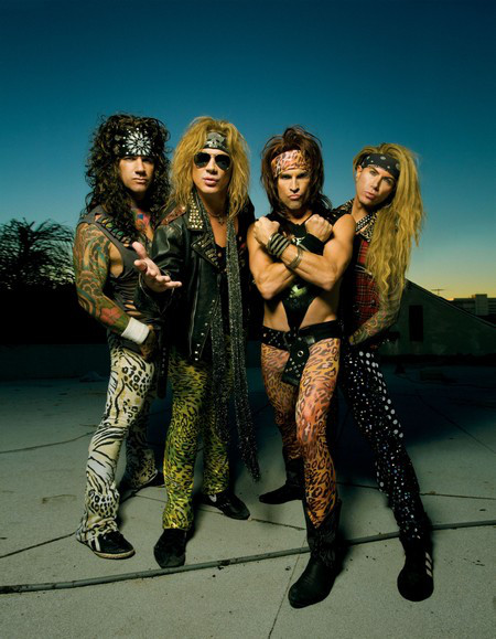 Steel Panther glam