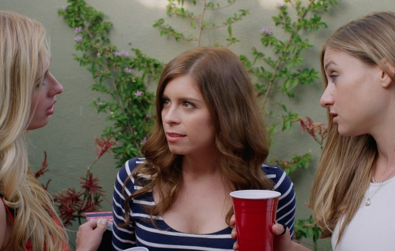 Three girls talking 2