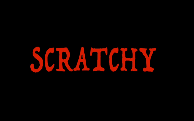 Scratchy header