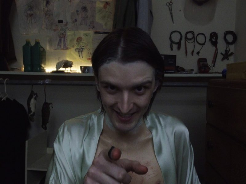 Evil Jacob pointing into camera