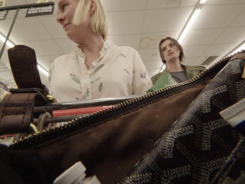 Purse Cam in electronics store 2