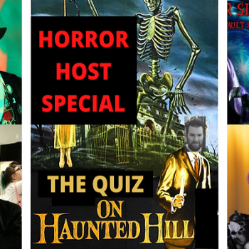 Horror Hosts Go Head to Head on 'THE QUIZ ON HAUNTED HILL'