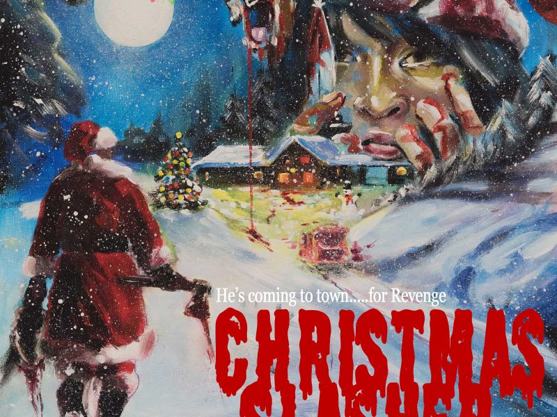 christmas slasher poster